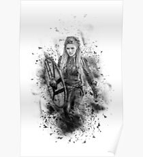 Ink Lagertha Poster