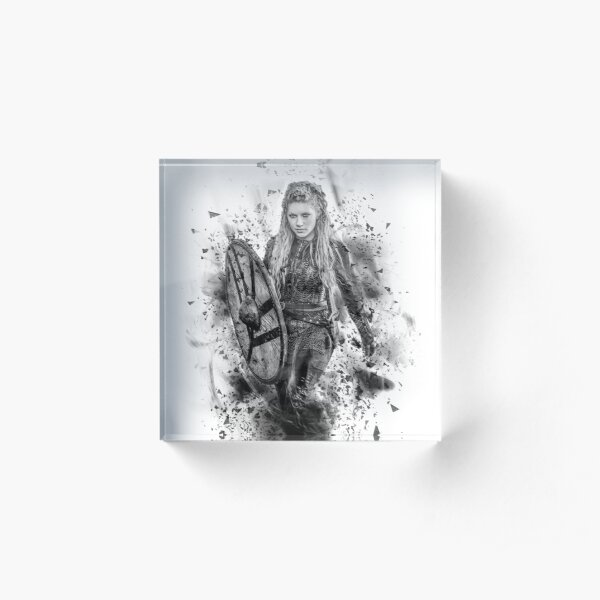 Ink Lagertha Acrylic Block