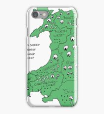Sheep in Wales (no titles) iPhone Case/Skin