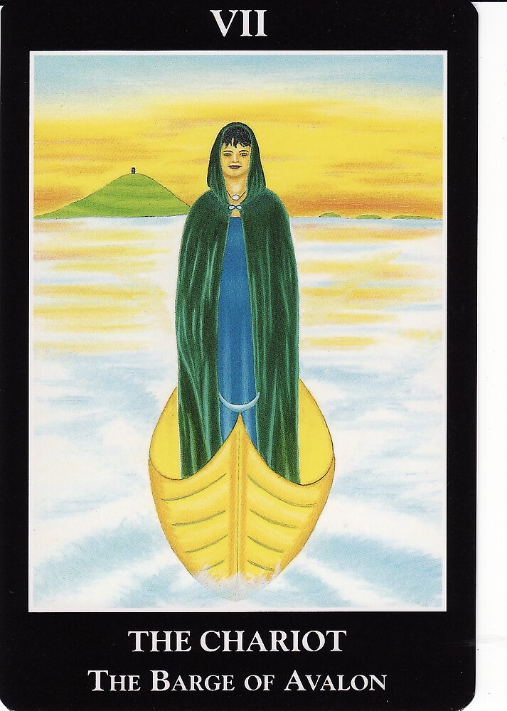 The Chariot - The Barge of Avalon by Lisa Tenzin-Dolma
