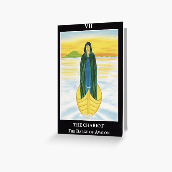 The Chariot - The Barge of Avalon Greeting Card