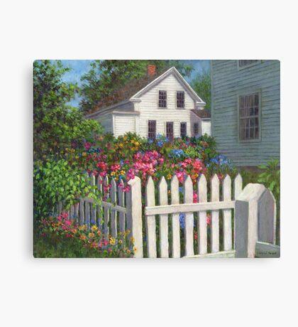 Come into the Garden Canvas Print