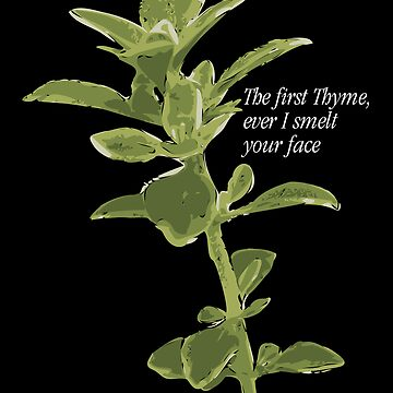 The first Thyme... by cajebo