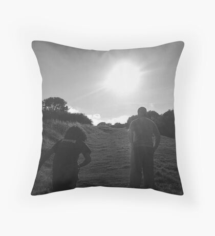 South Downs Throw Pillow