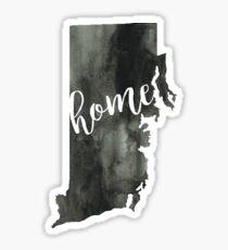 rhode island is home Sticker