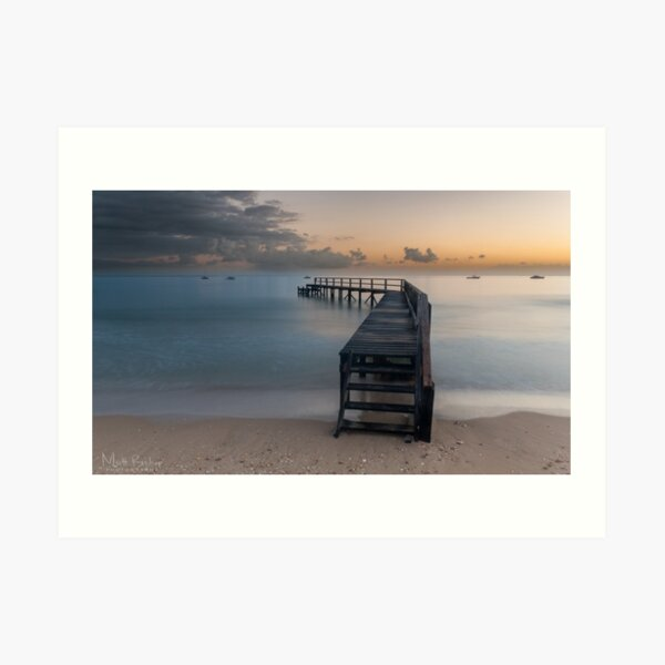 Shelly Beach Before the Dredging Art Print