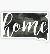 south dakota is home Sticker