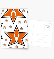 Customize My Minifig Star Logo  Postcards