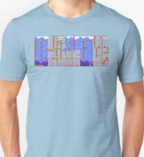 Megaman Themed Pixel Level T-Shirt