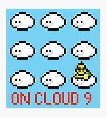 Lakitu on cloud nine Photographic Print