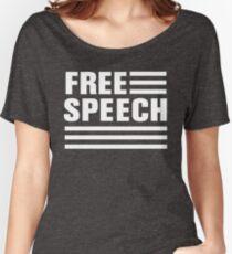 Free speech stripes Women's Relaxed Fit T-Shirt