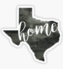 texas is home Sticker