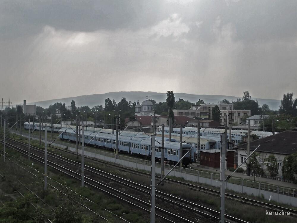 Train station by kerozine