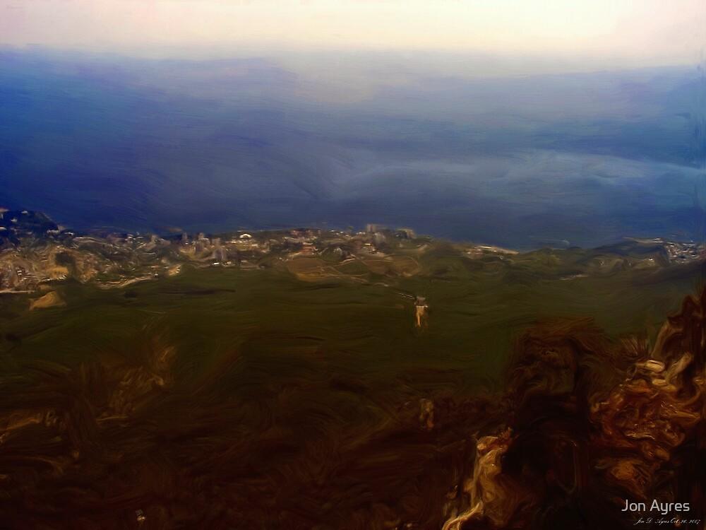 Yalta as seen from Ai-Petri Mountain by Jon Ayres
