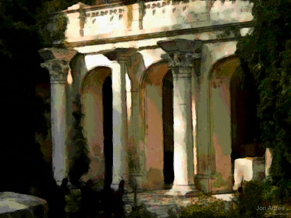 Greek Villa in Chersonesus by Jon Ayres
