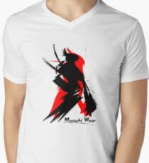 Musashi Wear 1 Mens V-Neck T-Shirt