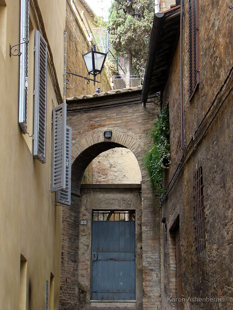 Entry to Home in Siena by Karen Ashenberner