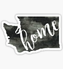 washington is home Sticker