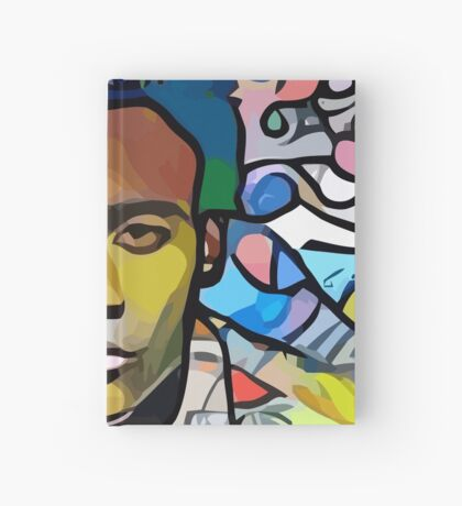 Abstract Because The Internet Hardcover Journal