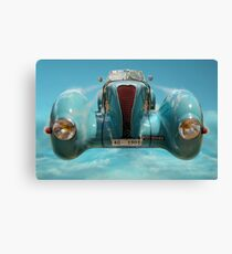 Vintage Sky Car Canvas Print