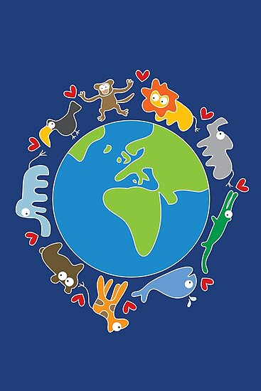 We Love Our Planet | Animals Around The World II by fatfatin