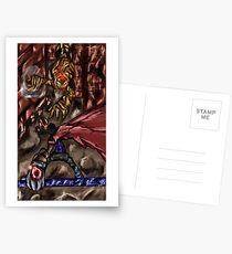 Fierce Attack Postcards