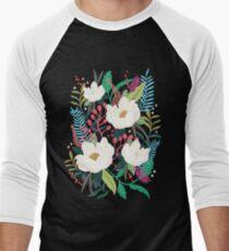 The Garden of Alice, flower, floral, blossom art print Men's Baseball ¾ T-Shirt