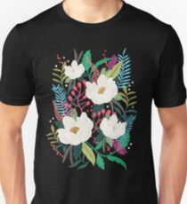 The Garden of Alice, flower, floral, blossom art print Unisex T-Shirt