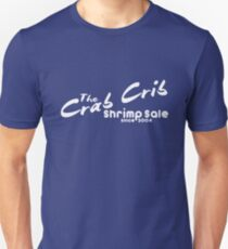Shrimp Sale at the Crab Crib Unisex T-Shirt