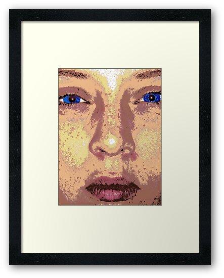 Self Portrait by Kelly Boyle
