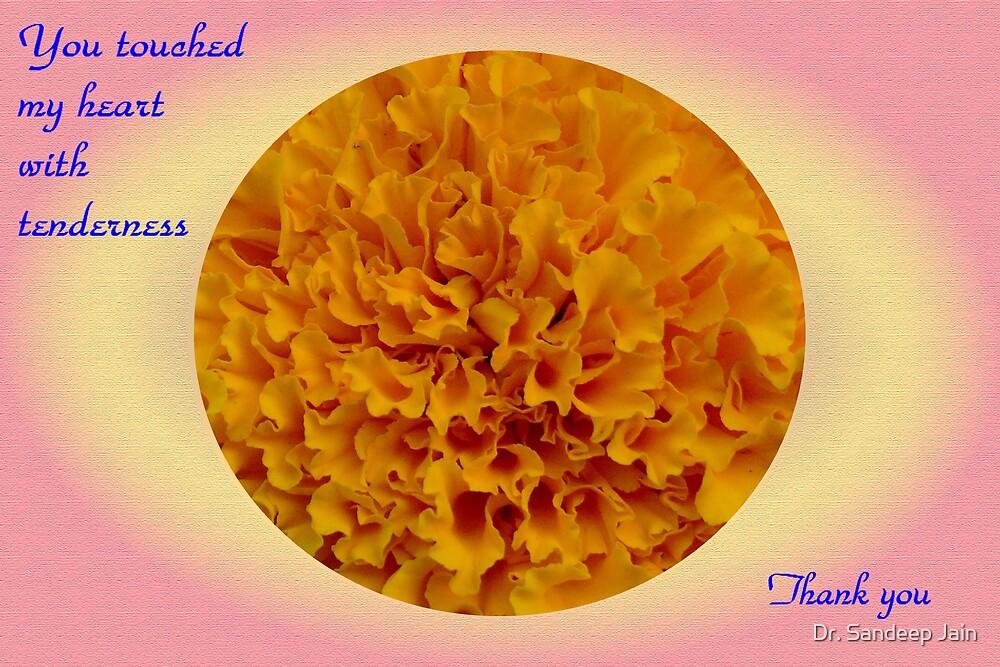 Thank you card by Dr. Sandeep Jain