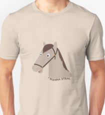 """""""I Wanna Steal"""" - Fred The Horse Unisex T-Shirt"""