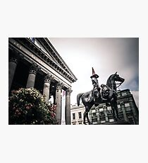 Duke of Wellington, Glasgow Photographic Print