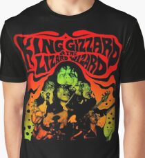 king gizzard and the lizard wizard 4 Graphic T-Shirt