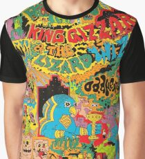 king gizzard and the lizard wizard 5 Graphic T-Shirt