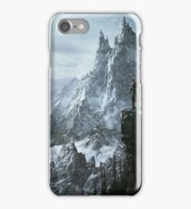 Skyrim winter iPhone Case/Skin