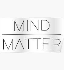 Mind/Matter Poster