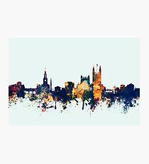 Bath England Skyline Cityscape Photographic Print
