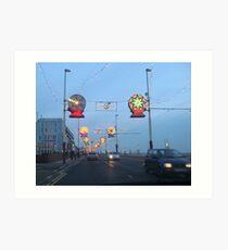 Blackpool Lights - 4 Art Print