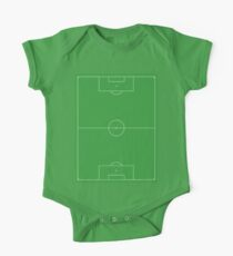 Soccer Pitch, Football Pitch, Soccer Field, Football Field, Football, Soccer One Piece - Short Sleeve
