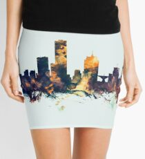 Milwaukee Wisconsin Skyline Mini Skirt