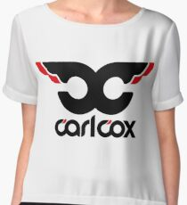 carl cox Chiffon Top