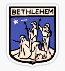 Bethlehem Vintage Travel Decal Sticker