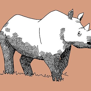 Black Rhino Fanimal by Jaaay