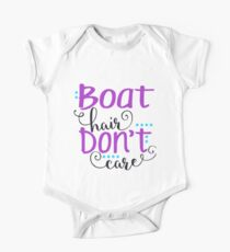 Boat Hair Don't Care One Piece - Short Sleeve