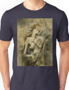 Girl with Mandolin Unisex T-Shirt