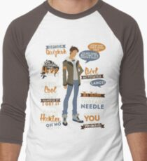 Lance Quotes Men's Baseball ¾ T-Shirt