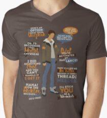 Lance Quotes Men's V-Neck T-Shirt