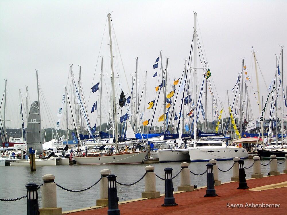 Annapolis Harbor by Karen Ashenberner