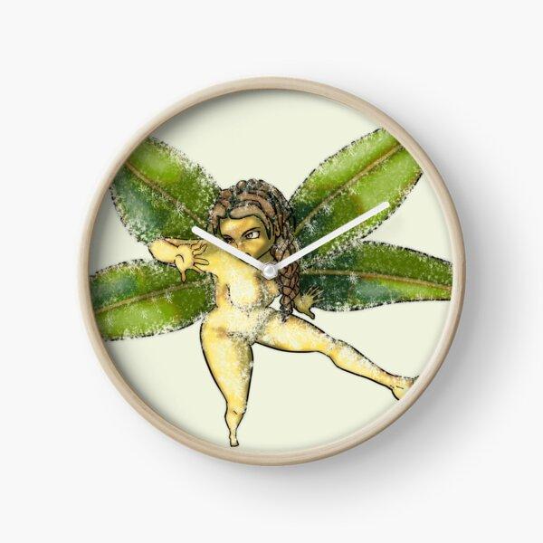 Elfe de la nature Horloge